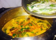 IMG_3878-300x215 Rice with Lentil and mixed Vegetables / Kootan Choru