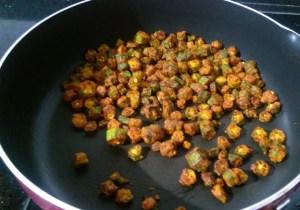 IMG_7633-300x210 Bhindi Fry / Stir Fried Crispy Okra