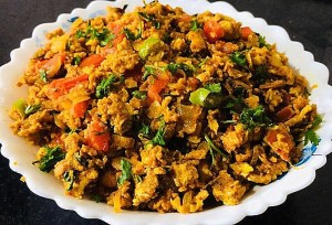 IMG_8409-300x204 Scrambled Eggs/Egg Bhurji (Mumbai Style)