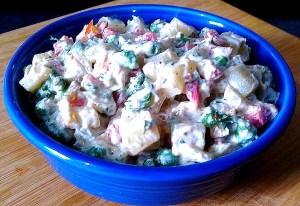 BOHE6399-300x206 Potato Yogurt Salad