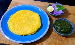 FTNF4176-300x182 Mustard Leaf Gravy with Indian Corn Flat Bread/Makki Ki Roti and Sarson ka Saag