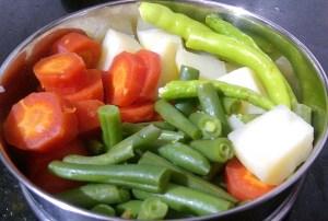 CIWN1702-300x202 Sindhi Kadhi/ Vegetables in Gram Flour Gravy