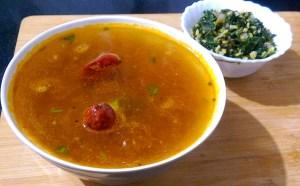 CYXL7377-300x186 Lentil Soup with Pepper/Paruppu Rasam / Dal Rasam
