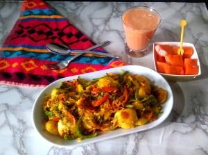 JWVJ5538-300x223 Mini Vegetable Masala Idli