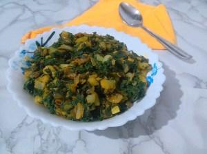 PFAW1140-300x223 Chenopodium Potato Curry/Bathua Aloo Ki Subzi/Paruppu Urulai Keerai