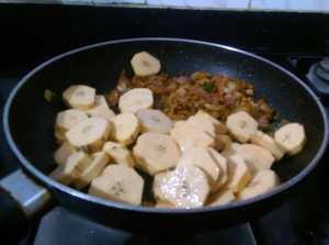 UYTI9160-300x223 Kerala Raw Banana Pepper Fry