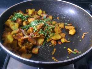 XUEV6553-300x223 Simple Sweet Potato Stir Fry
