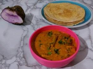 HASZ5464-300x222 Purple Yam Gravy/ Ratalu Tomato Gravy/Ratalu Kilangu Gravy