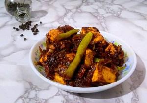 EQUJ0333-300x211 Paneer Pepper Masala/Cottage Cheese Pepper Masala