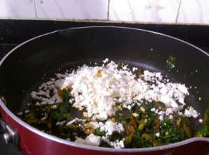 TJIB1024-300x223 Spinach Rice with Cottage Cheese/Palak Paneer Pulav