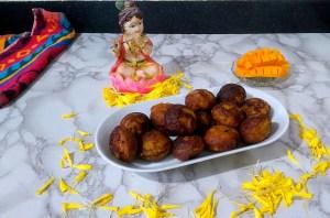 VDEA3545-300x198 Ripe Mango Appam/Mambazha Unniappam/Paniyaram
