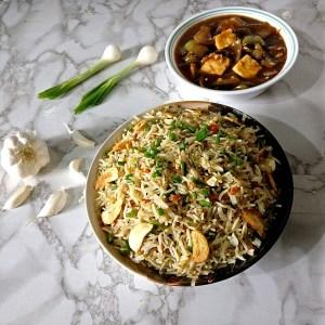 WWUN2274-300x300 Burnt Garlic Fried Rice/Indo Chinese Fried Rice/Burnt Garlic Veg Fried Rice
