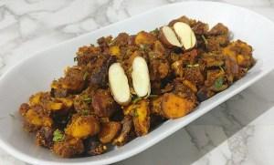 AUKF3075-300x181 Jackfruit Seed Spicy Stir Fry/Jackfruit Seed Masala Poriyal