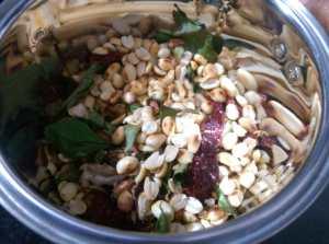BBYS8440-300x223 Peanut Chutney Powder for Idli and Dosa