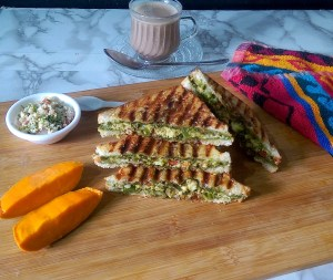 FQKV2753-300x253 Fresh Indian Cheese (Paneer) Sandwich