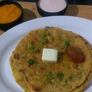 KHJV9278-300x300 Flat Bread with Indian Cheese/Simple Paneer Paratha