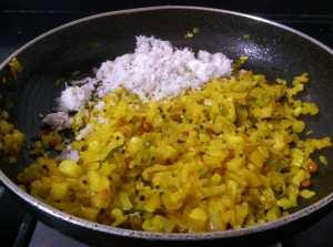 THKA6057-300x223 Radish Stir Fry/Mullangi Poriyal