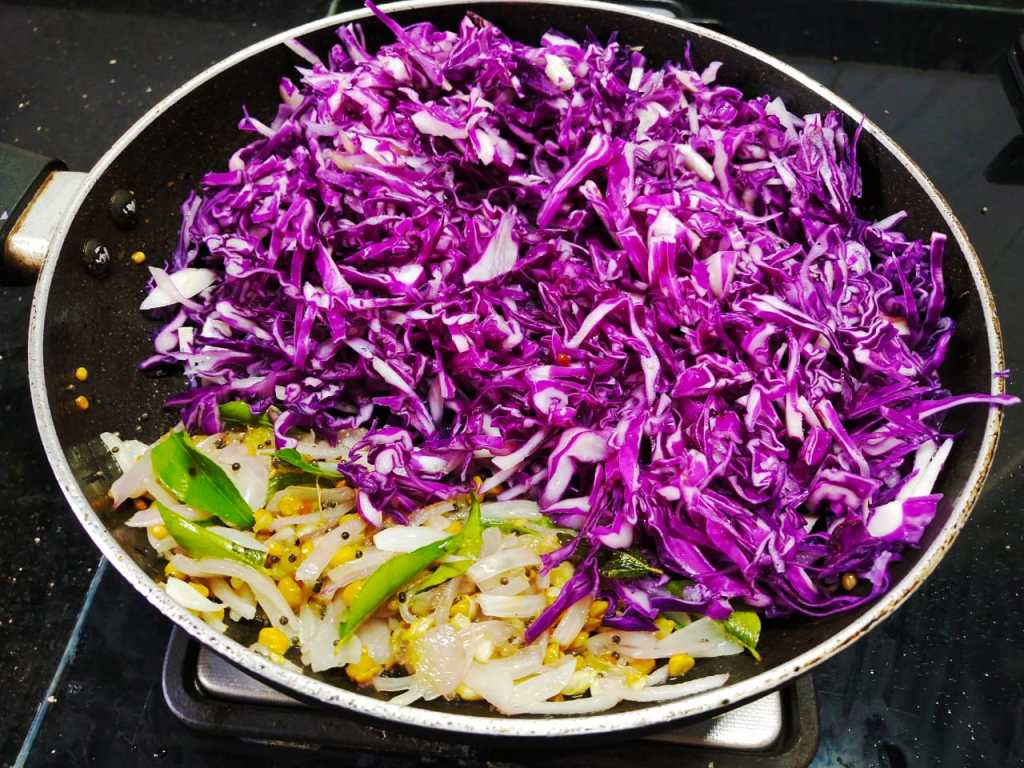CQRS1857-1024x768 Karnataka Style Purple Cabbage Stir Fry/ Purple Cabbage Palya (Cabbage Poriyal)