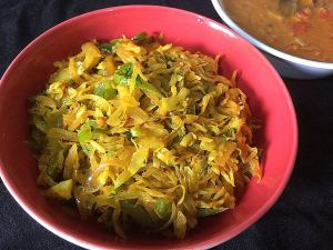 EUFW3232-300x225 Cabbage and Capsicum Stir Fry