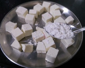 IOOD6061-300x240 Spicy Fried Indian Cheese Cubes/ Paneer 65