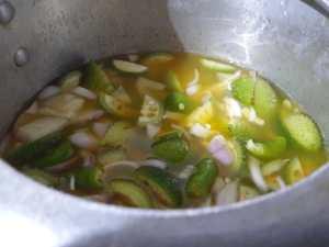 KFSY9685-300x225 Spiny Gourd Lentil Curry/ Kantola Dal