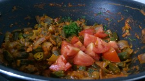 LMNN9832-300x167 Stir fried Okra in Onion Dry Curry/ Bhindi Do Pyasa