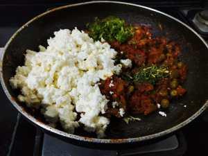 NPKO5613-300x225 Crumbled Indian Cheese Curry/Paneer Bhurji (Dhaba Style)