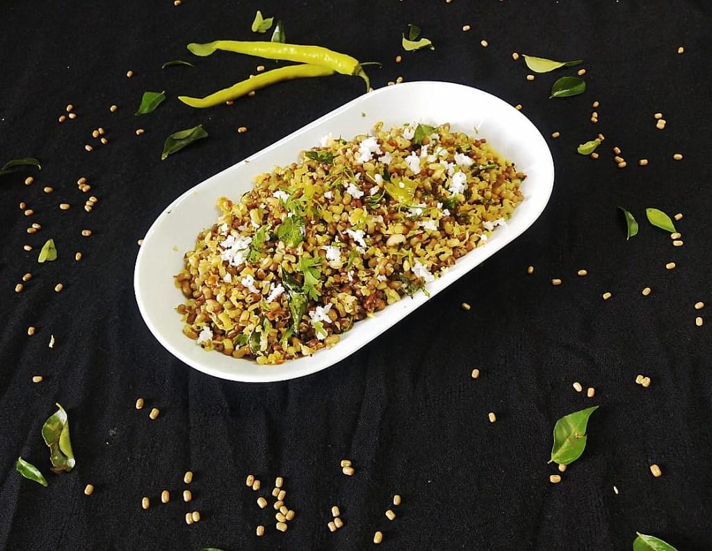 TMBD9440-1024x792 Moth Bean Stir Fry/ Matki Sundal/ Matki Sukhi Bhaji