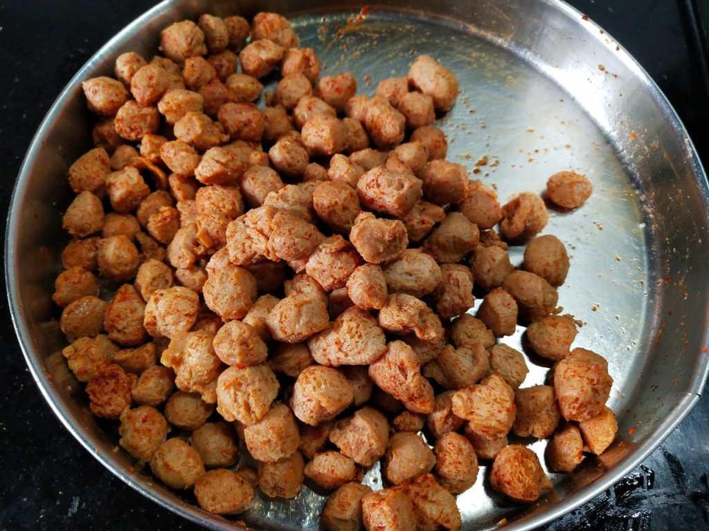 YHIZ0714-1024x768 Soya Chunks Dry Masala/ Meal Maker Dry Masala
