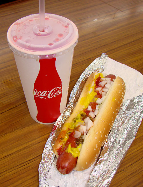 How Much Cholesterol In One Hot Dog
