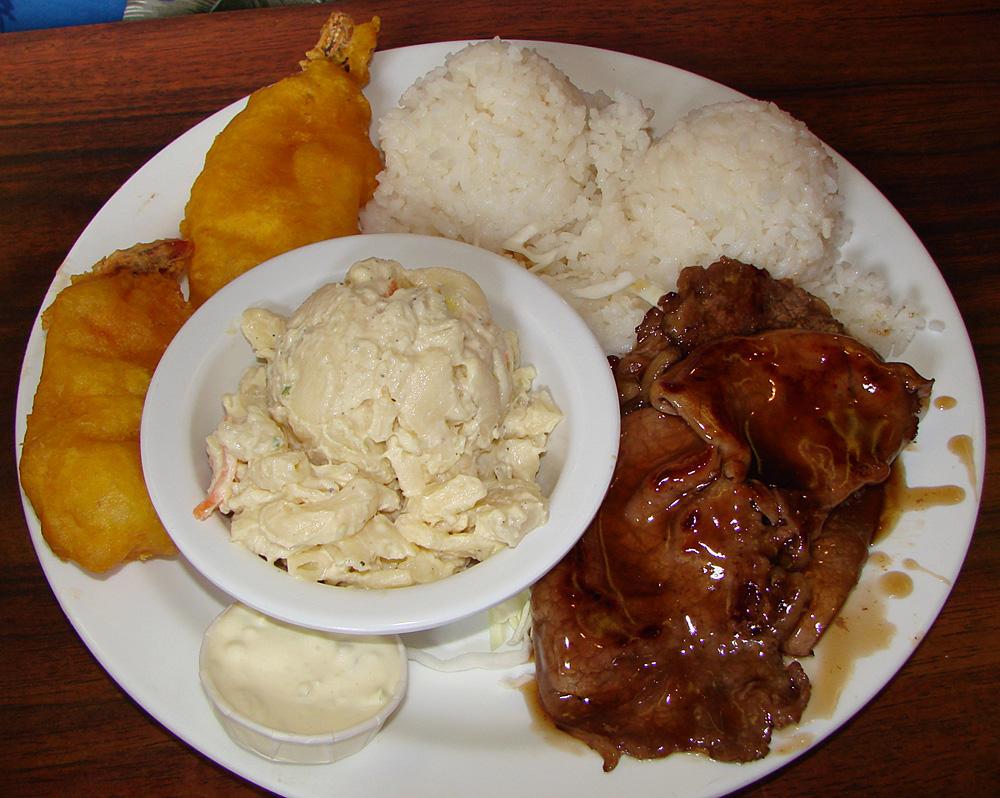 Plate Lunch Presentation 101 Tasty Island