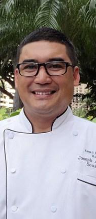Chef de Cuisine Joseph Almoguera