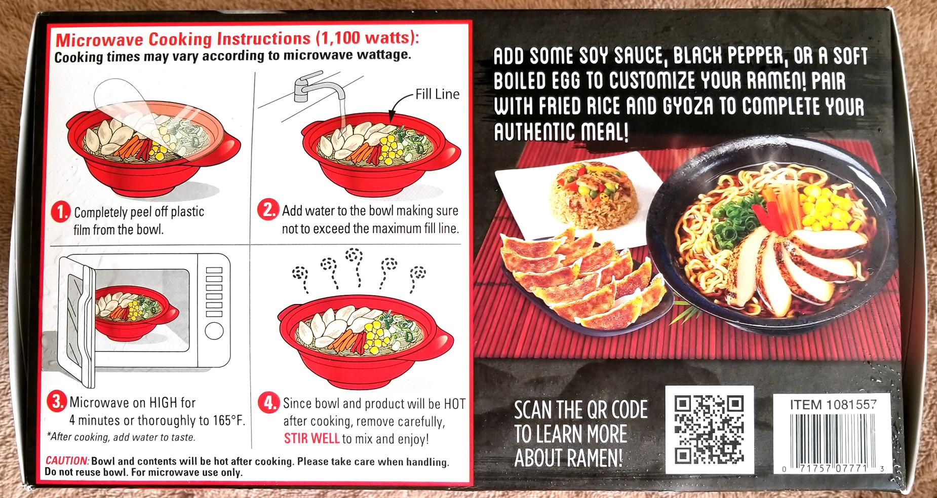 Costco Eats Ajinomoto Tokyo Style Shoyu Ramen With Chicken Tasty