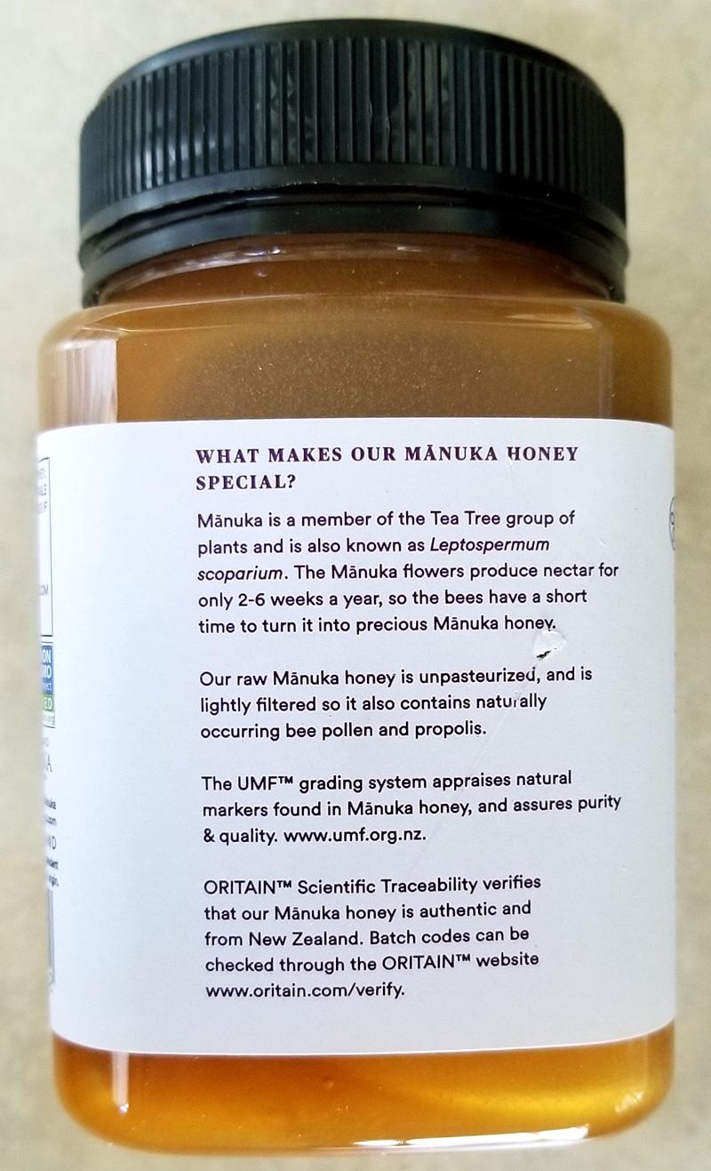 Costco Eats: Melora Mānuka Honey UMF 10+ – Tasty Island