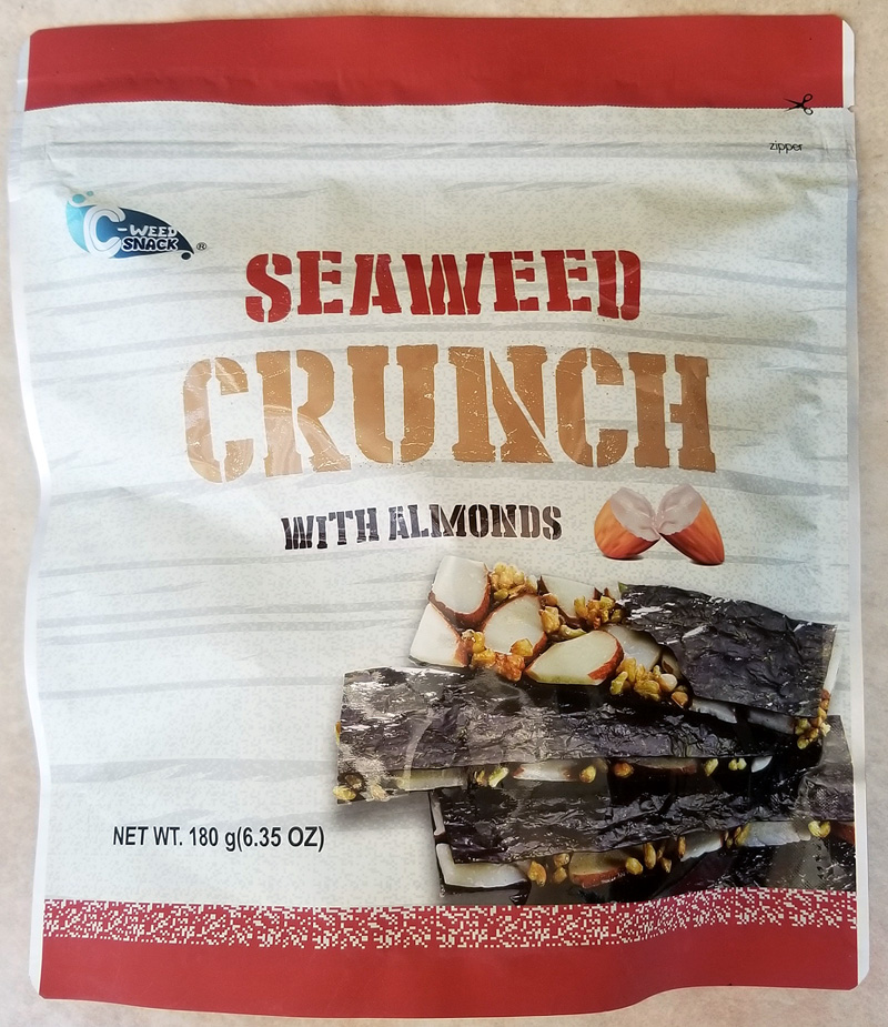 Costco eats seaweed crunch with almonds tasty island for Hilo fish company