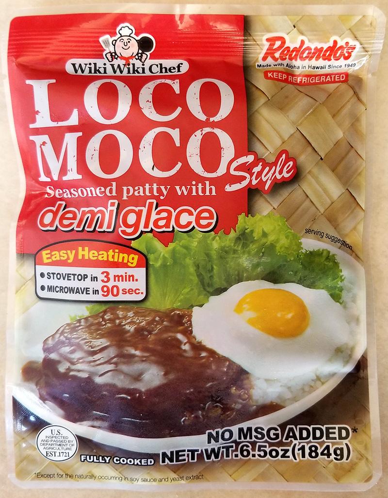 Wiki Wiki Chef Loco Moco with Demi Glace – Tasty Island