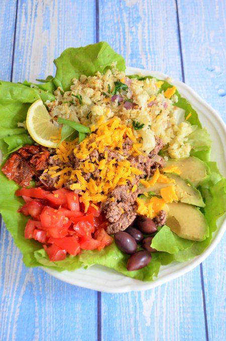 Keto Tex Mex Taco Bowl Salate & Bowls keto rezepte ketogen diät Salate & Bowls 2