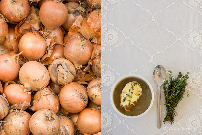 Lekker soppen in de Franse uiensoep