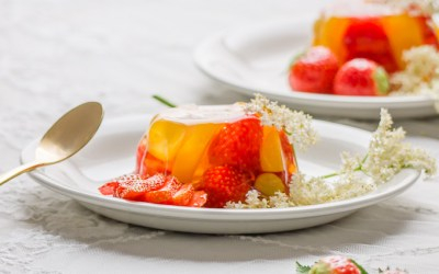 Vlierbloesem Fruit Jellies… Gelatinepudding…
