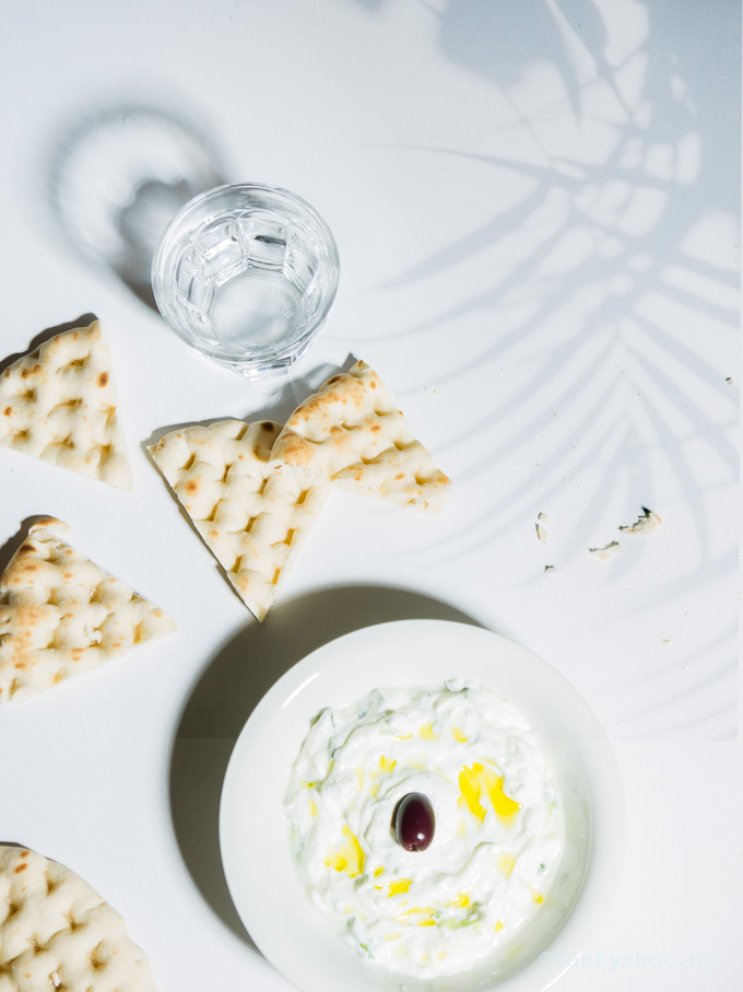Tzaziki Recept Photography: © Gitta Polak www.tastyshot.nl