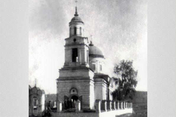 Церковь в селе Царицыно