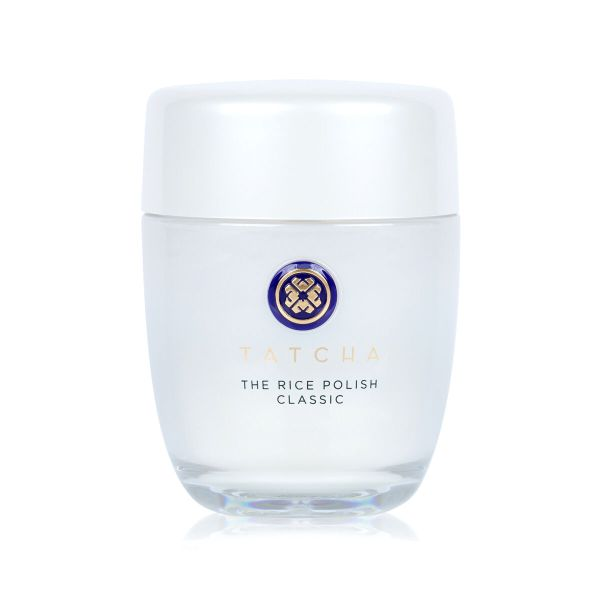 Afbeeldingsresultaat voor A water-activated exfoliant of nourishing Japanese Rice Bran that transforms to a creamy foam for smooth, polished skin with a healthy glow.