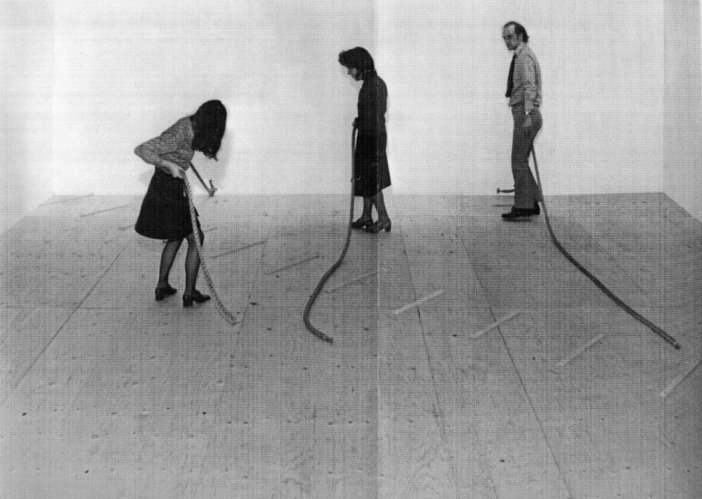 Installation View Of Robert Morris Tate Gallery 1971