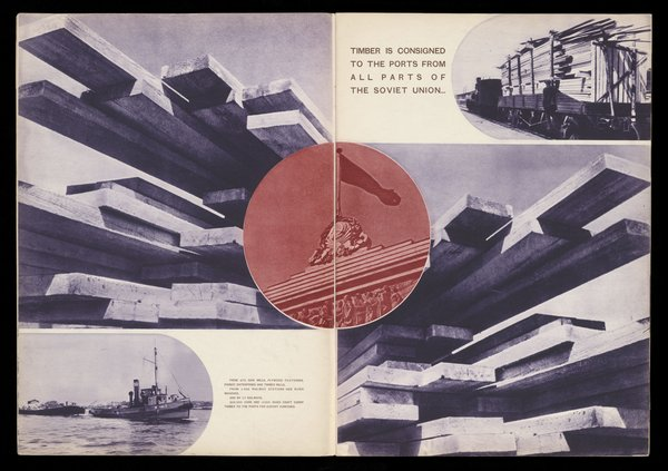 Aleksandr Rodchenko, USSR in Construction, Issue 8 1936, Journal, Purchased 2016. The David King Collection at Tate