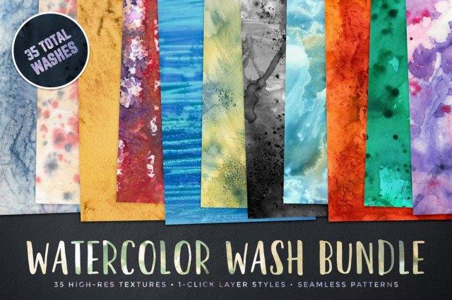 Watercolor Wash Bundle Volume 1