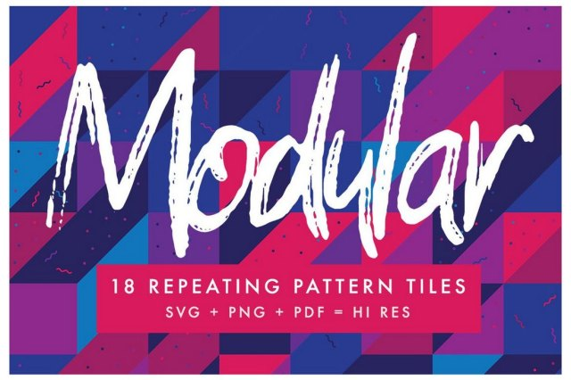 Modular Photoshop Patterns