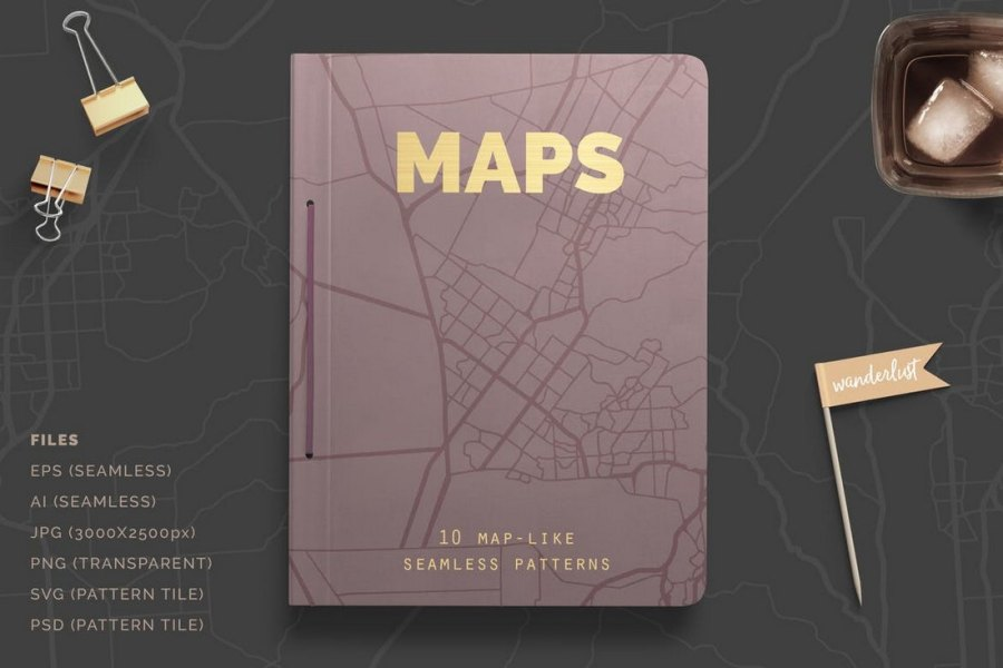 Photoshop Maps Patterns