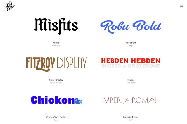 Top typography resources: Typeverything