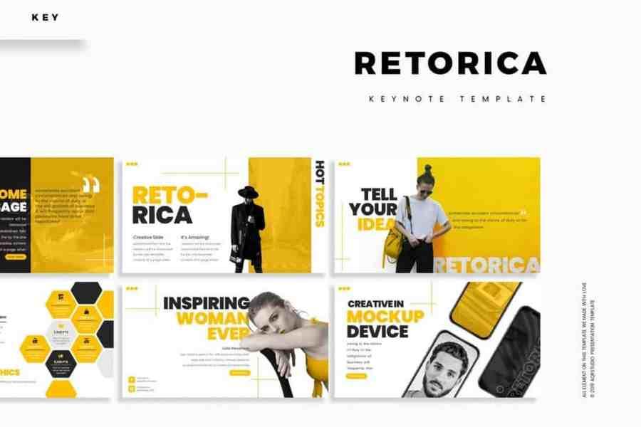 Retorica - Marketing Keynote Template