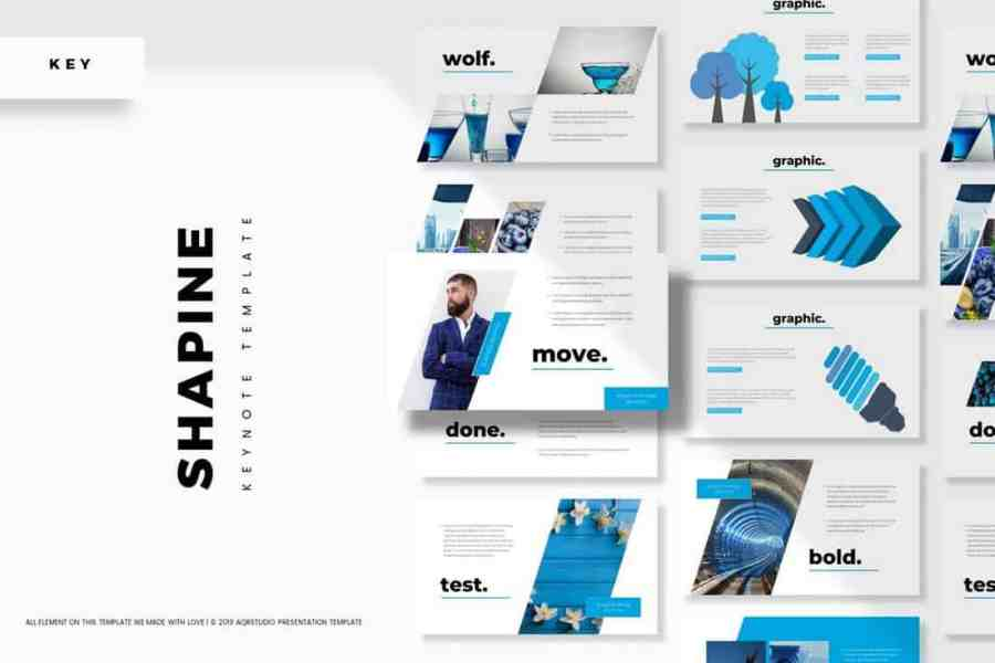 Shapine - Modern Keynote Template